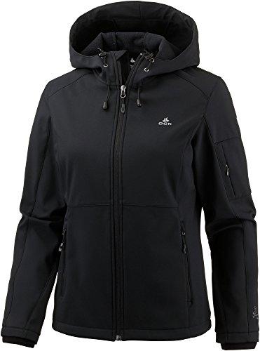 OCK Damen Softshelljacke schwarz 48