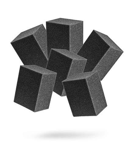 Adam's Block Applicator (6 Pack) – Trim Dressing & Tire Shine Applicator Pad for Car Detailing |...