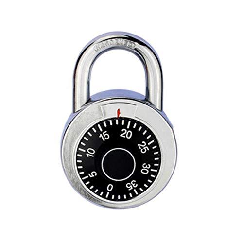 Houer 1 STKS Roterend Hangslot Cijfercombinatie Codeslot Veilig Rond Kiesnummer Bagage Beveiliging Fietskoffer Ladekast, A