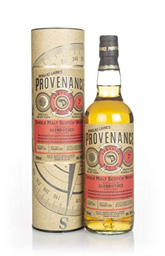 Douglas Laing & Co. PROVENANCE Glenrothes 7 Years Old Single Cask Malt 2013 Whisky (1 x 0.7 l)