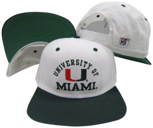 Miami Hurricanes White/Green Two To…