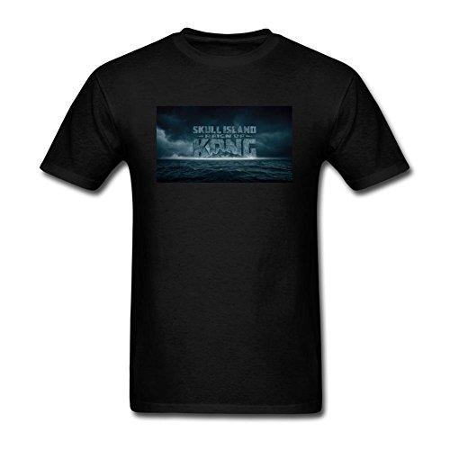 Xiuluan Hombres de Kong isla calavera Logo película camiseta de manga corta