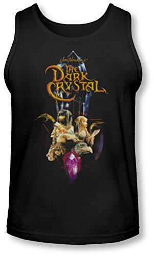 Dark Crystal - - Crystal Quest Tank-Top pour hommes, Medium, Black