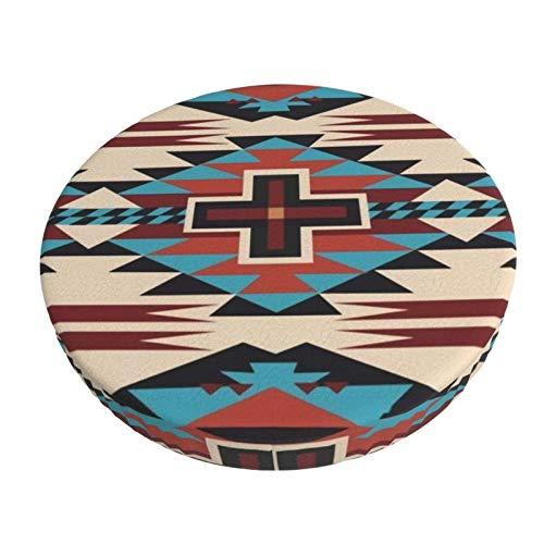 Stretch Stuhlhussen Bezug American Native Pattern Voller Druck Husse für Stuhl rutschfest Bar Chair Cover 13 in