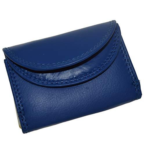 flevado Kleine handliche Party Disco Geldbörse in Mehreren Farben Lifestyle (blau)