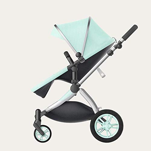 Best Buy! Baby Stroller High Landscape Two-Way Horizontal Stroller Portable Folding Shock Baby Cart ...
