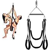 Šē&x Cǒǘplës Swing Adjustable Comfortable and Swing Set with Steel Triangle Frame and Spring for Adult DR2021