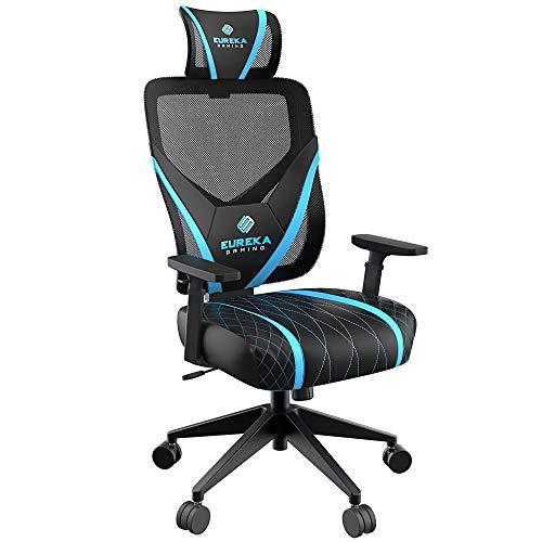 Video Game Chair GE300, Black & Blue