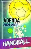 Agenda 2021 - 2022 Handball: Scolaire Collège Lycée Étudiant | Journalier | Garçon Fille