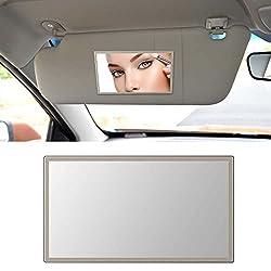 small NC Elec sun visor mirror for makeup mirror in the car