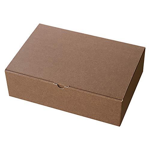 ヘッズ 日本製 無地 ギフト ボックス LL W323×H95×D225mm ブラウン 10枚 箱 HEADS MBR-GB1