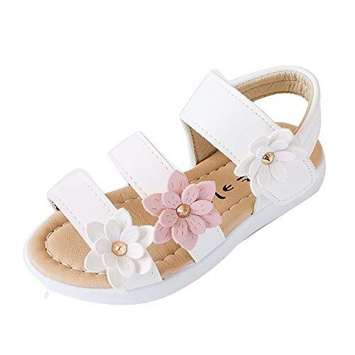 YWLINK Sandalias De NiñOs,Verano NiñAs Sandalias Moda Big Flower Flat Princess Shoes...