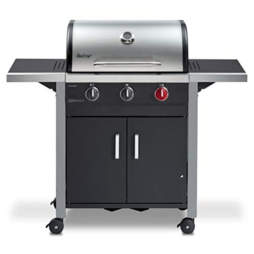Enders Chicago 3 R Turbo Gas Barbecue, Silver