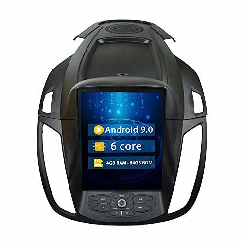 ROADYAKO 9.7Inch Indash Car Center Multimedia para Ford Kuga 2013 2014 2015 2016 2017 Radio estéreo para automóvil Navegación GPS automática 4G WiFi RDS Bluetooth FM Am Video Audio Control