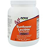 Sunflower Lecithin Pure Powder Help The Brain Liver and Nervous System Soy Free Non GMO 1 lb 454 g
