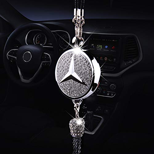 Wall Stickz Auto Sport Car Ornaments Exquisite Diamond Mickey Perfume Car Air Refreshing Fit Benz Accessory