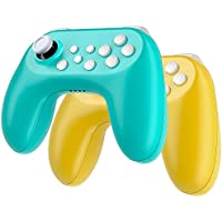 2-Pack Zacro Wireless Controller with Built-in Rechargeable Battery for Nintendo Switch