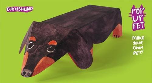 Pop Up Pet Dachshund: Make your own 3D card pet!