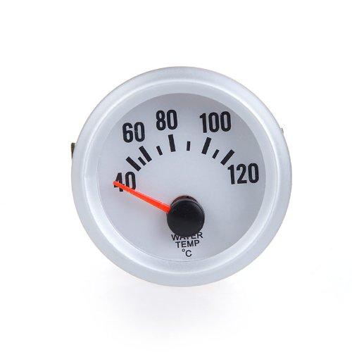 KKmoon Termómetro Medidor de Temperatura Agua Calibrador con Sensor y LED Luz para Coche