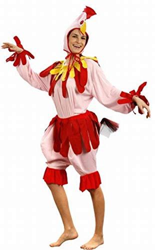 Fyasa 700273-t04 Poule Costume de déguisement, Grande