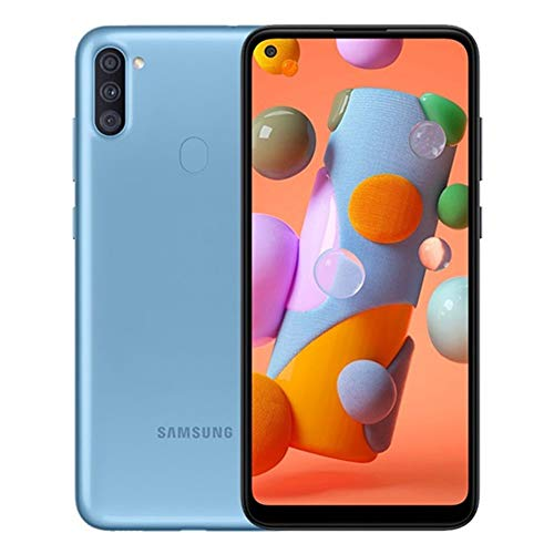Samsung A11   SM-A115M DS   64GB 3GB RAM   International Model   Factory Unlocked (GSM Only   Not Compatible with Verizon Sprint) (Blue)