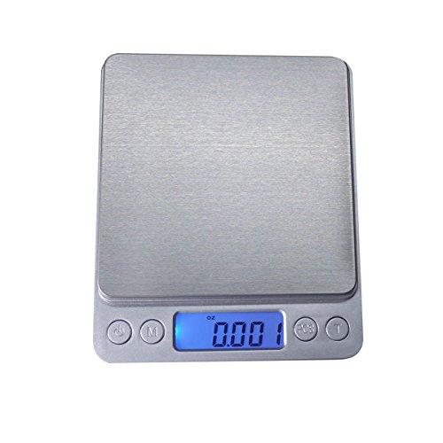 High-precision Digital Pocket Jewelry Kitchen food Scale Lab Weight Capacity 500g001g 1763oz0001oz