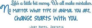 Zootopia Vinyl Wall Decal Quote - Judy Hopps Sticker | Children's Bedroom Decor - 20