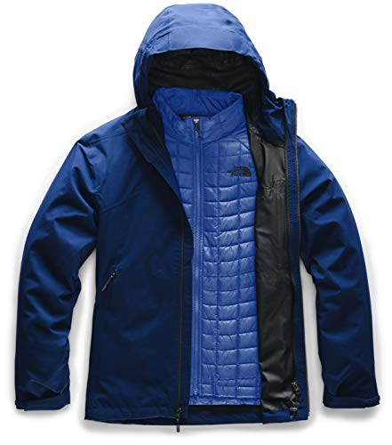 The North Face Men's Thermoball Eco Triclimate Jacket, Flag Blue, S