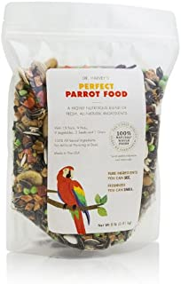 Dr. Harvey's Perfect Parrot Blend - Natural Food for Large Parrots (5 pounds)