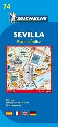 Map 9074 Sevilla (Michelin City Plans) by Michelin(2007-03-01)