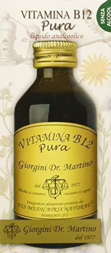 Dr. Giorgini Integratore Alimentare, Vitamina B12 Pura Liquido Analcoolico - 100 ml