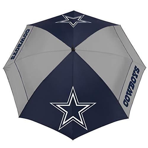 """Team Effort NFL Dallas Cowboys 62"""" Windsheer Lite Golf Umbrella62 Windsheer Lite Golf Umbrella, Multi, NA"""