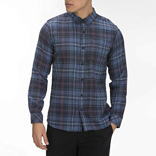 Hurley M Vedder Washed L/S Woven Chemises Homme Mystic Navy FR: L (Taille Fabricant: L)