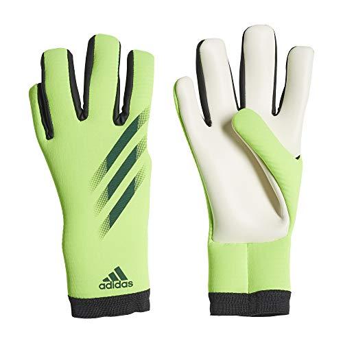 Adidas Guantes de Portero de Entrenamiento X 20 para Hombre, Color Verde señal/Tinta energética/Negro, 11