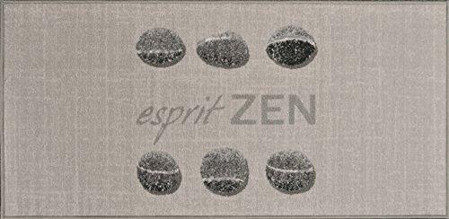 douceur d'intérieur tapis rectangle 57x115 cm esprit zen