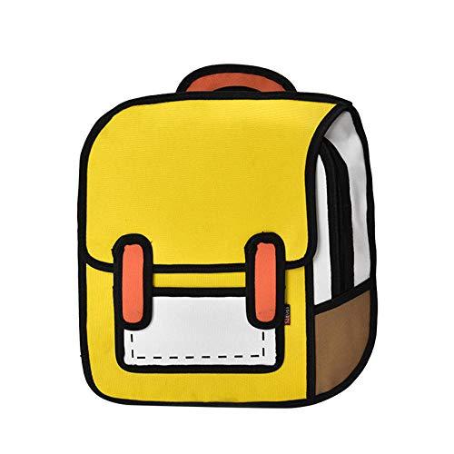 Schultaschen Mode Frauen Zeichnung Rucksack Springen Stil Cartoon Schultasche Für Mädchen Im Teenageralter Jungen Bagpack