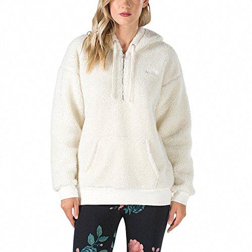 Vans_Apparel Damen Subculture Hoodie Kapuzenpullover, Elfenbein (Marshmallow), 38 (Herstellergröße: Large)