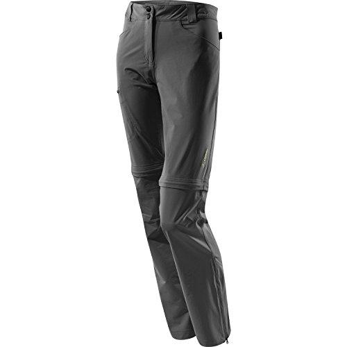 Löffler CSL Trekking Zip Off Pantalon pour femme – Anthracite FR:46 Gris - 970-1 anthrazit