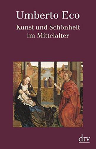 Buchseite und Rezensionen zu 'Kunst und Schönheit im Mittelalter' von Umberto Eco