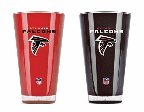 NFL Atlanta Falcons Isolierbecher aus Acryl, 590 ml, 2 Stück