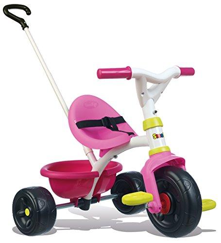 Smoby - Tricycle Be Fun Rose - Vélo Enfant Dès 15...