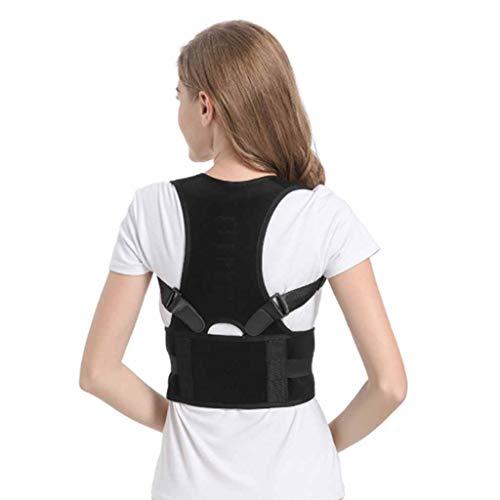 AN Corrector De Postura, Superior Ajustable Invisible Dorsalgia Se Preparan para La Columna Vertebral De Clavícula Debajo De La Ropa del Cuello del Hombro Universal Fijador,Average