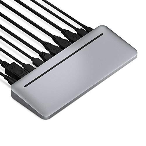 Brydge Stone Pro Multiport Hub | Thunderbolt 3 | 87 W, Dual Displays (4K @ 60 Hz), DisplayPort, USB-C 3.1 Gen 2, USB-A & More | MacOS & Windows