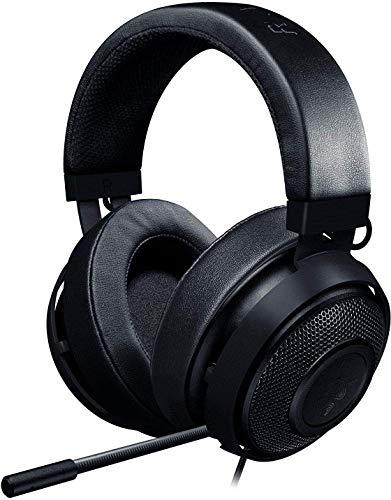 Razer Kraken Pro V2 Oval - Musik und Gaming Kopfhörer für PC und PS4 (50mm Audiotreiber, Robuster Unibody-Rahmen und Komfortable ovale Ohrpolster) schwarz