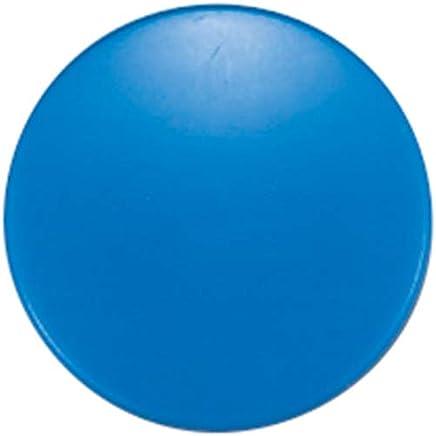 SHINWA测定 彩色磁铁 蓝色 直径40mm × 10コ入 71822