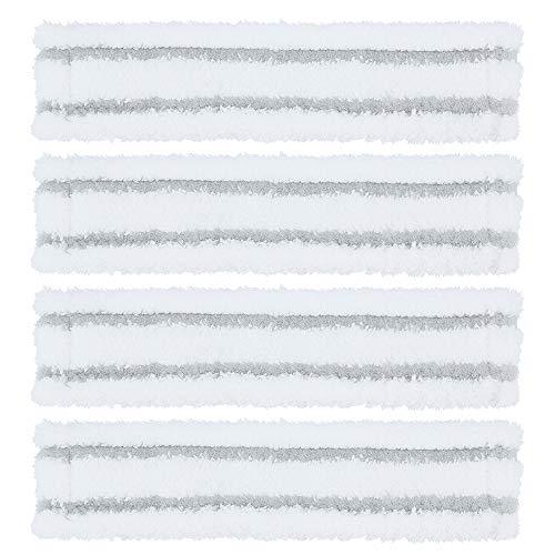 DingGreat 4Pcs Microfaser Wischbezuege für Kärcher Akku-Fenstersauger WV1 WV2 WV5