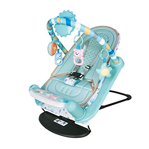 WJTMY Mecedora para bebé, Juguete eléctrico para recién Nacido, Marco de Ejercicio,...