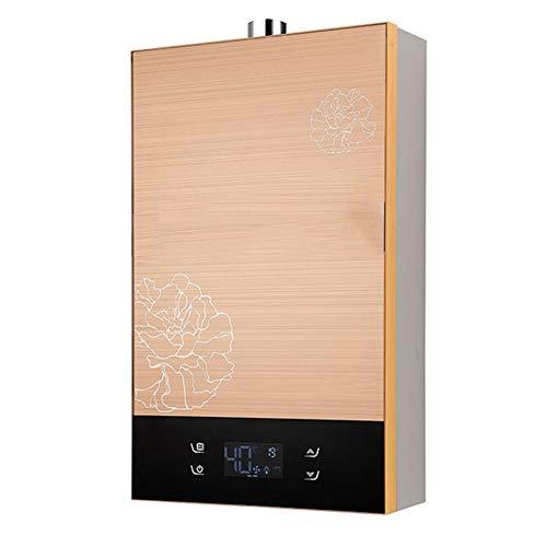 12L 22KW Instant-Warmwasserbereiter Erdgas LPG Flüssigöl Propan-Warmwasserbereiter Wandkessel for die Wohnküche (Size : Natural Gas)