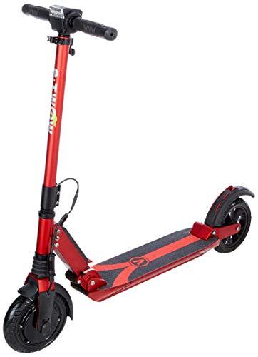 E-TWOW Unisex Booster V Elektrische step voor volwassenen, rood, één maat