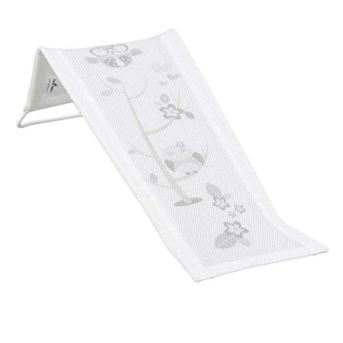 Hamaca de baño tumbona para bebé de tela blanco Owls